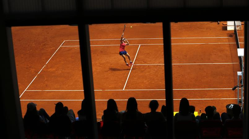 Tennis in Madrid